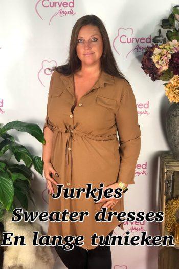 Sweater dresses, Jurken etc